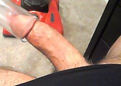 Part 3 of Me safely Mastiubating and Cumming in a Vacuum