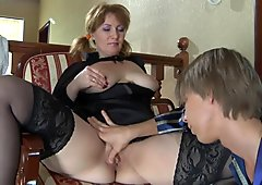 RARE Thick bbw milf young boy anal 2
