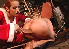 Ginna meets Santa