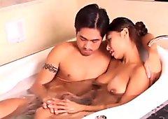 hot tan taiwanese girl