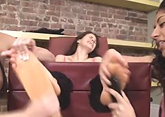 diane sexy laught lickle torture