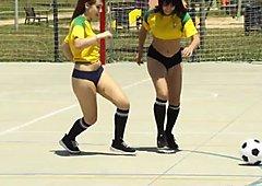 Amateur soccer teen blows