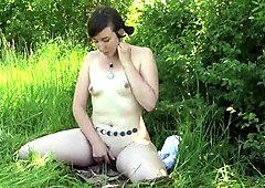 Brunette Artemis Toying Her Pussy