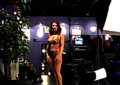 Yvonne and Miglana Amateur casting girls
