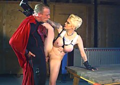 Horny superhero bangs balls deep a hot heroine