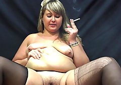 beautiful plump smokes showing its belly