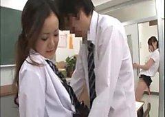 The teacher has seen students' sex(censored)