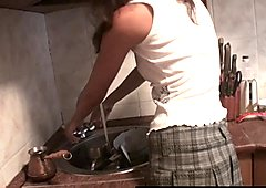 Amateur Girlfriends Fucking In The Kitchen