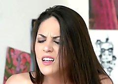 Anny Aurora Masturbates to Carolina Abril's...