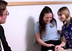 Mormon girl gets cumshot