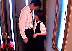 Nippon schoolgirl nipplesuck forbidden lover