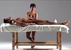 Greatly Erotic Massage Cook Jerking to Completion