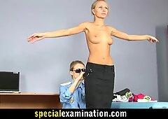 Kvinde Bliver Bundet I Gyno Stolen Og Bliver Tortureret & Kneppet - Nudie
