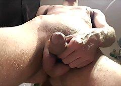 26yo Skinny Boy BvdH Pissing 2 Times (Toilet Seat View)