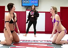 Competitive Lesbian Wrestling