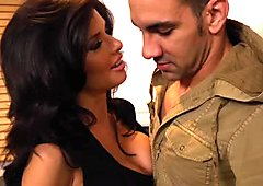 Hot brunette Veronica Avluv is a pro dick sucker