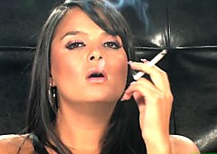 Sasha Cane Leopard dress smoking