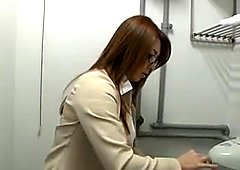Yumi Kazama - Beautiful Japanese Office mother I'd like to fuck