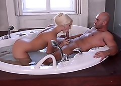 Blowjob In The Jacuzzi