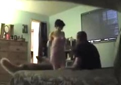 Spouse catches wife with plumber on hidden livecam
