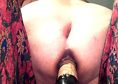 anal dildo fist bbw