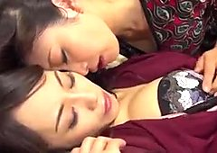 Lesbian jav - she has to submit to the true feeling