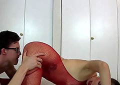 Lelu Love-Bodystocking Oral Riding Creampie