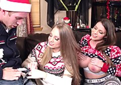 Christmas cracker for Shawna Lenee and Brooklyn Chase