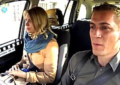 Cheating Wife in a Taxi