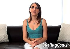 Casting Couch-X Model with hot ass fucks