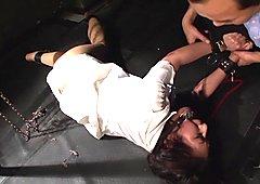 Chihiro Asai in Bizarre Cage 74 part 2.1