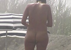 Nudist real public scenes with amateur absolutely nude