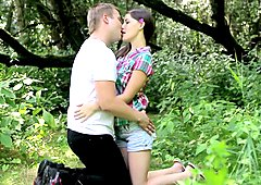 Dirty Flix  Forest lovemaking