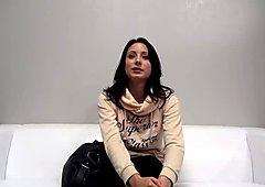 Czech amateur has her first lesbian sex