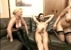 BUSTY GERMAN MATURE ANDREA, BEATE & STEVE HOLMES 3SOME-B$R