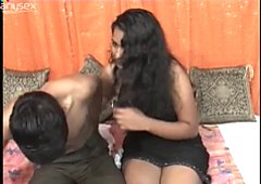 Indian couple Reshma and Salman is making love