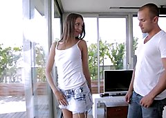 HD - Passion-HD Petite Foxi Di takes a dick in the ass