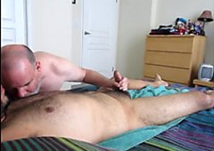 Double Nutt From A Horny Young Man.  OralistDan Video 208