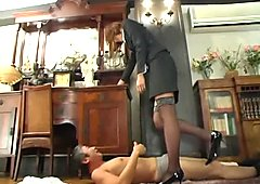 Ichinohe Nozomi in Rape Girl Reverse Strap-on DildoLiver Tall Man Nozomi Ichinohe Experimental Workshop