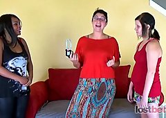 LostBets - 506P - Strip Greek Roulette with AngieJo, Cora and Jennie