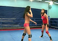 Spoiled and angry Rosee & Nilla have a real catfight in the ring