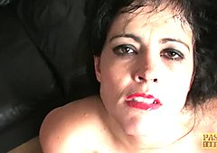 Slut mom Montse Swinger will travel for anal