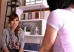 Big Tit Lesbian Apartment Seducers Part 1