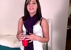 Innocent Hot Girl Paying for Bills By Doing First Porn Video