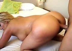 Latina gets fucked hard in the Ass