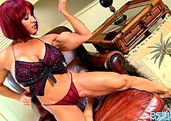 Denise Masino Red Head Anal Play Video