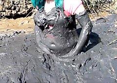MudBunny in mud