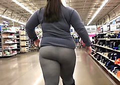 Bbw see through leggings