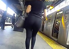 Super Fine Candid Latina Booty Wow....