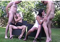 Amateur-Gruppensex - je mehr desto besser!